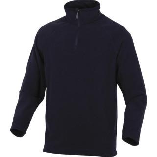DELTA PLUS Ανδρική μπλούζα από μαλλί πολικού τύπου μαύρη ALMA